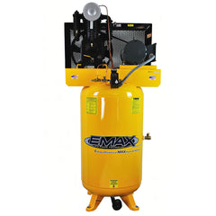 EMAX EP05V080I1 5 Hp 1 Phase 80 Gallon Industrial Plus Vertical Air Compressor