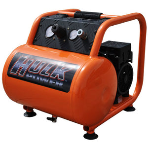 EMAX HP01P005SS 120-Volt 1 HP 5 Gallon Silent Portable Electric Air Compressor