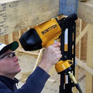 "Bostitch F21PL2 1-1/2"" X 3-1/2"" Framing Nailer with Positive Placement Tip"