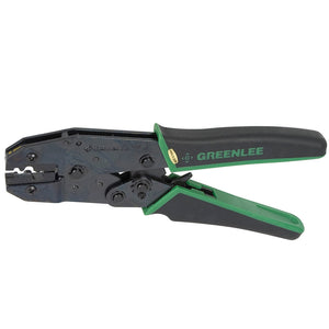Greenlee 45505 22-8 AWG Durable Non-Insulated Terminal Crimper w/ Splice Die