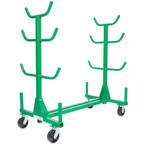Greenlee 668 1,000 lbs Capacity Heavy Duty Portable Pipe and Conduit Rack