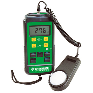 Greenlee 93-172 Durable Digital Light Cosine-Corrected Data Measurment Meter
