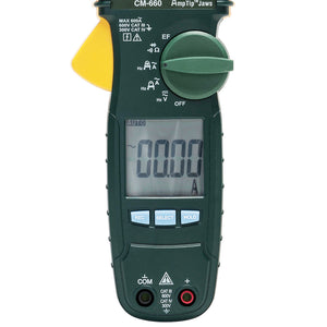 Greenlee CM-660 600-Amp Durable General Purpose AC Clamp True RMS Meter