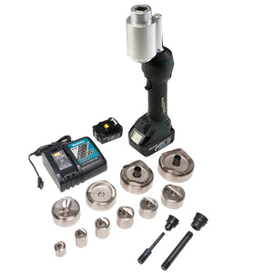 Greenlee LS100X11SBSP4 18-Volt 3.0 Ah SlugBuster/SpeedPunch Knockout Punch Kit