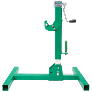 Greenlee RXM Heavy Duty Steel Ergonomic Adjustable Individual Reel Stand