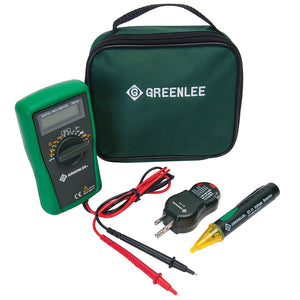Greenlee TK-30A Basic Measurement/Voltage Detector/Circuit Tester Electrical Kit
