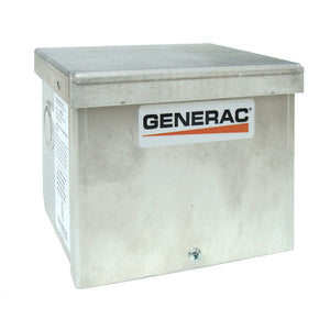 Generac GNC-6343 30 Amp 125/250V Raintight Aluminum Power Inlet Box Nema L14-30