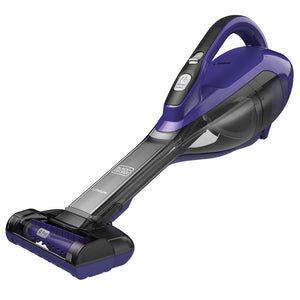 Black and Decker HLVA325JP07 2.5Ah Lithium-Ion Pet Hand Vacuum - Purple