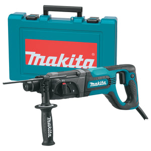 Makita HR2475 1-Inch 1,100 and 4,500 Bpm Corded D-Handle SDS-Plus Rotary Hammer
