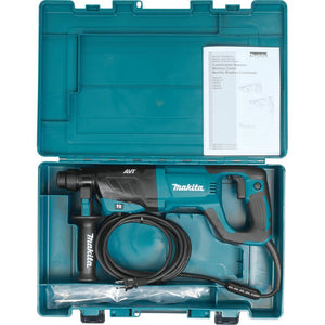 "Makita HR2641X1 SDS-PLUS AVT Rotary Hammer with Case and 4-1/2"" Angle Grinder"