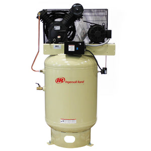 Ingersoll Rand 2545K10-VP 200-Volt 120-Gallon 3-Phase Air Compressor -Value Plus