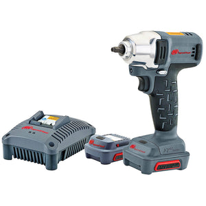 "Ingersoll-Rand IRW1120-K2 1/4"" 12V Cordless Impact Wrench 2 Battery Kit with Charger"