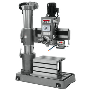 JET J-720R 3-Hp 230/460V 3' Heavy Duty Corded Arm Radial Drill Press