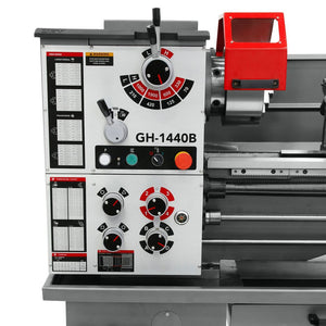 Jet 323448 14-Inch x 37-Inch 1-Phase Geared Head Bench Lathe w/ DP500 and Taper