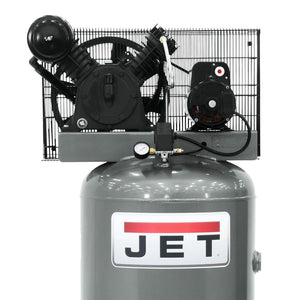 JET JCP-801 5-Hp 230V 80 Gallon Cast Iron Pump Vertical Air Compressor