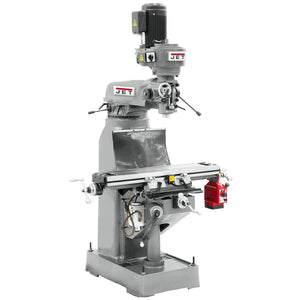 JET JTM-1 2-Hp 230V Heavy Duty High Precision Step Pulley Milling Machine