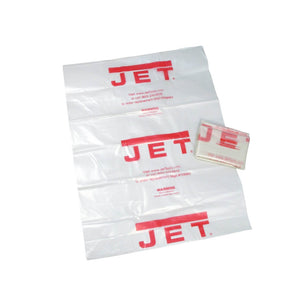 "Jet 14"" Clear Plastic Diameter Collection Bag (pack of 5) 709565"