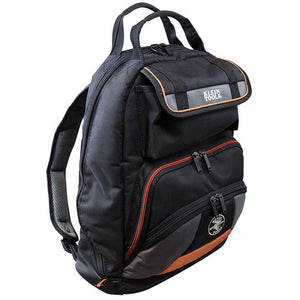 Klein 55475 Black Tradesman Pro Tool Zipper Storage Carrying Gear Backpack