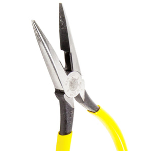 Klein D2038 8-Inch Slim Head Design Long Nose Side Cutting Pliers