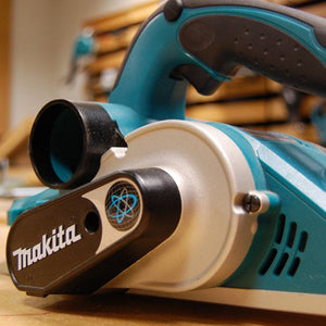 "Makita KP0800K 3-1/4"" 6.5 Amp 31/4"" Wide 3/32"" Deep Ergonomic Corded Planer Kit"