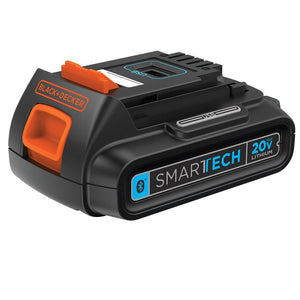 Black and Decker LBXR20BTK 20-Volt SMARTECH Lithium-Ion Battery and Cup Charger