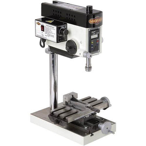 Shop Fox M1036 Micro Milling Machine w/ Compound Slide Table & Variable Speed
