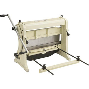 "Shop Fox M1042 24"" Wide 3-In-1 Sheet Metal Machine 22 Gauge Maximum Capacity"