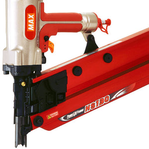 MAX USA HS130 5-1/8-Inch PowerLite High Pressure Stick Framing Nailer - HS90300