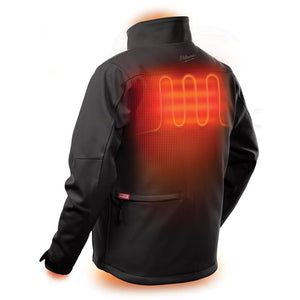 Milwaukee 202B-21XL M12 HEATED TOUGHSHELL JACKET KIT XL - BLACK