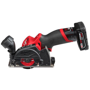Milwaukee M12 FUEL 2522-21XC 12-Volt 3-Inch 4.0Ah Cordless Cut Off Tool Kit