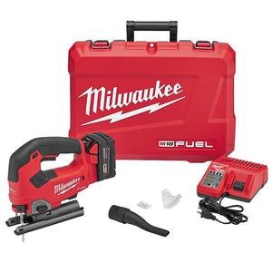 Milwaukee FUEL M18 2737-21 18-Volt Heavy Duty Cordless D-Handle Jig Saw Kit