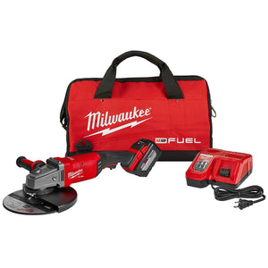Milwaukee FUEL M18 2785-21HD 18-Volt 7/9-Inch Large Cordless Angle Grinder Kit
