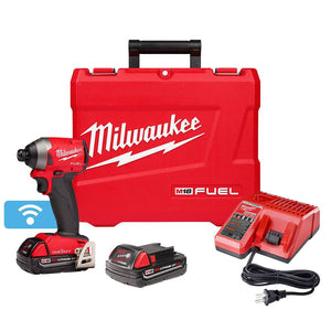 Milwaukee 2857-22CT M18 FUEL 18-Volt 1/4-Inch CP Hex Impact Driver Kit