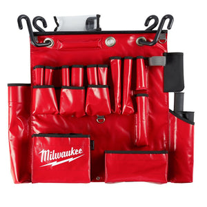 Milwaukee 48-22-8290 25-Pocket Puncture Resistant Aerial Tool Apron