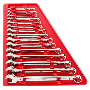 Milwaukee 48-22-9415 15-Piece Standard Open-End Combination Wrench Set