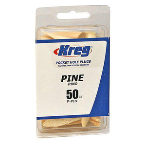 Kreg P-PIN Pine Plugs for Pockets - 50 Count