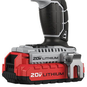Porter-Cable PCCK600LB 20-Volt 1/2-Inch Lithium Ion Innovation Drill/Driver Kit