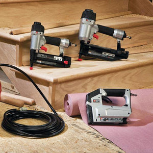 Porter-Cable PCFP12234 6 Gallon Compressor 3-Piece Nailer and Brad Combo Kit