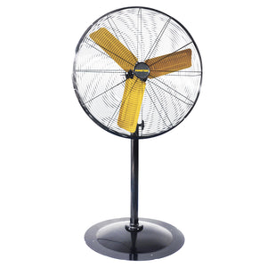 Master MAC-24P 120 Volt 1/3 HP 3-Speed 24-Inch Pedestal Circulation Fan