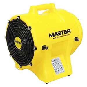 Master MB-P0813-DC25 115 Volt 60 Hz 1 HP 12-Inch Ventilator with Duct Canister