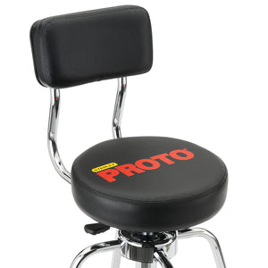 Proto JFC1011 44-Inch Black Heavy-Duty Metal Comfortable Adjustable Shop Stool