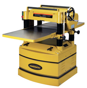 "Powermatic 209 5-Hp 230/460V 20"" Heavy Duty Planer w/ 5"" Dust Port"