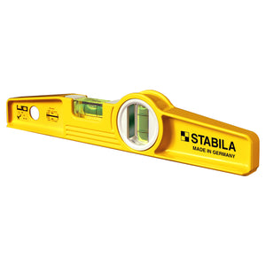 "Stabila 81SM 10"" Magnetic Torpedo Level with Die Cast Aluminum Frame - 25100"