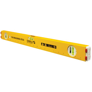 "Stabila 80A-2 24"" Measuring Stick Double Bridged Frame and 3 Scales - 29124"