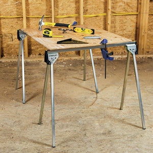 Stanley STST11154 750-Lbs Anti-Slip Collapsable Essential Metal Sawhorse