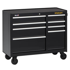 Stanley STST24181BK 41-Inch 300-Series 8-Drawer Storage Tool Cabinet - Black