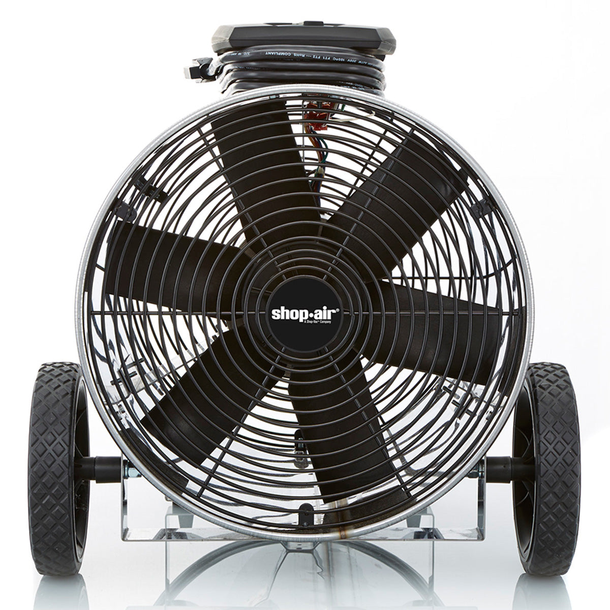 Shop-Vac 1033100 14-Inch 1/3-HP 2000 CFM Portable Blower 120-Volt Air  Circulator Fan