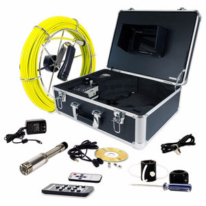 Video Snake SWJ-3188DT 65' Pipe Inspection Color LED Camera w/ Transmitter - Scratch and Dent