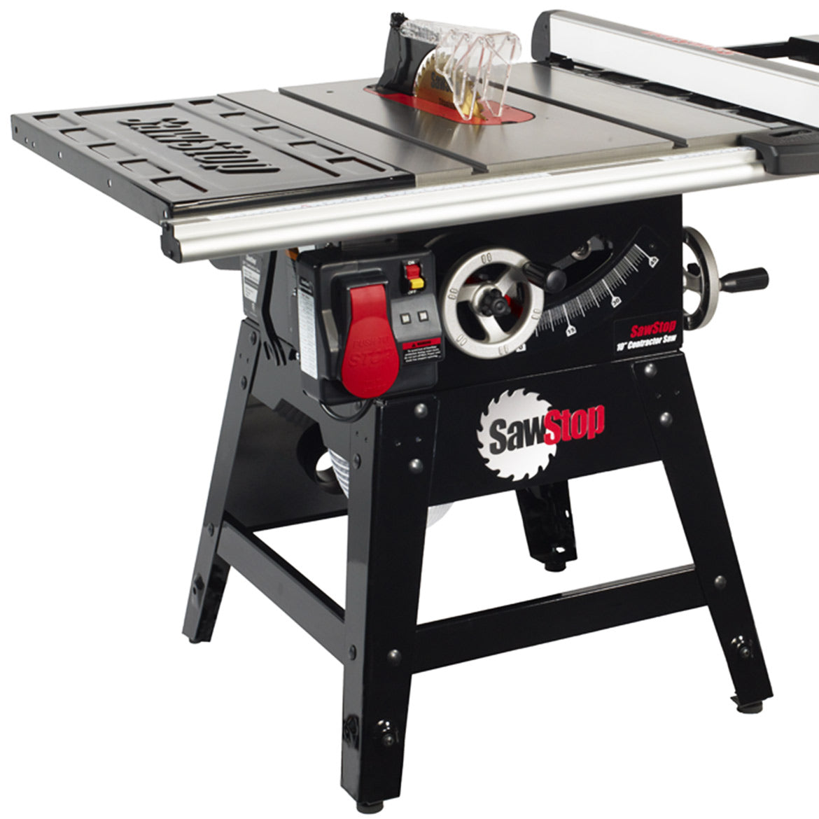 Sawstop Cns175 Sfa30 110 Volt 30 Inch 15 Amp Contractor Table Saw Fence System