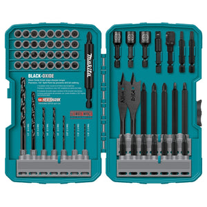 Makita T-01725 135 Degree 70-Piece Split Point Impact Drill-Driver Bit Set